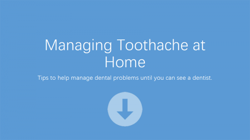 homecare toothache advice in lichfield